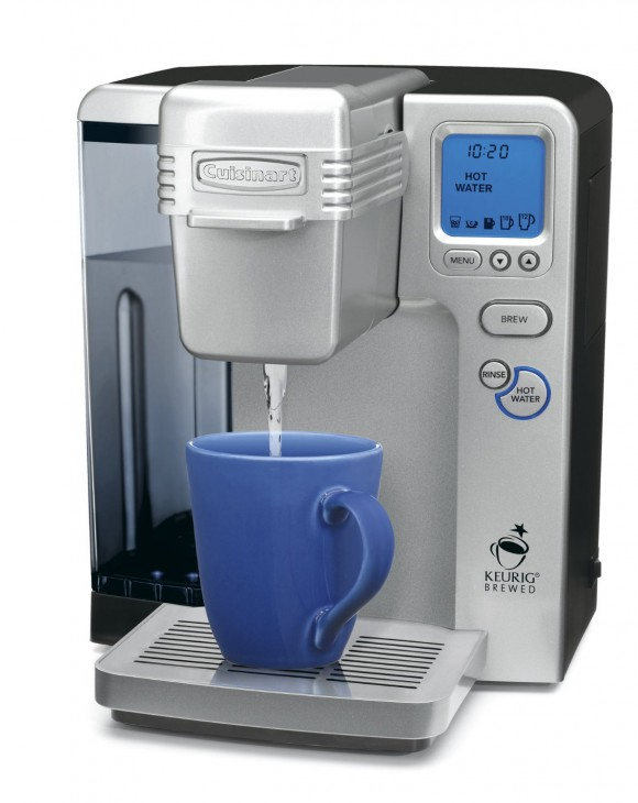 Cuisinart Single Serve Coffee Maker (SS-700) Pouring