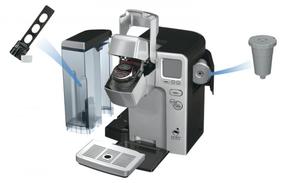 Cuisinart Single Serve Coffee Maker (SS-700) Schematic