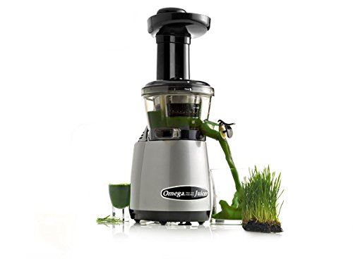 Omega VRT400HDS Vertical Masticating Juicer Tap 2