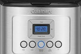 Cuisinart DCC-3200 Review Screen