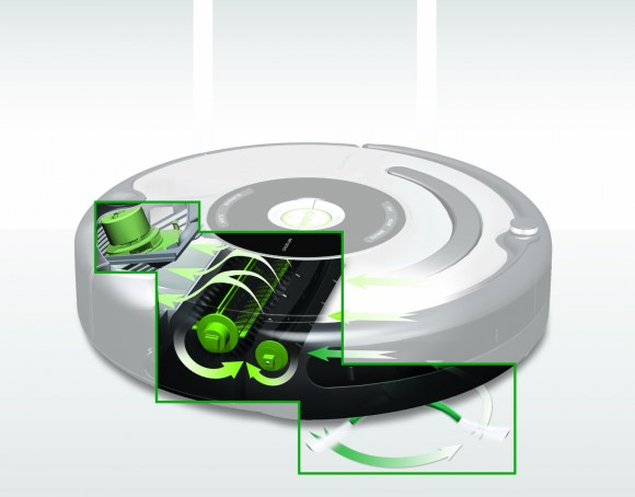 iRobot Roomba 3 stage